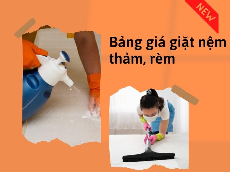 Bảng giá giặt nệm uy tín chuyên nghiệp tại Hà Nội 2021