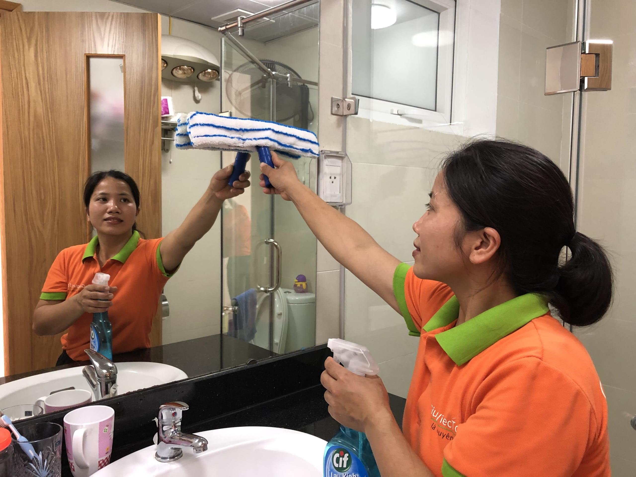 Dịch vụ dọn vệ sinh theo giờ giá cả phải chăng