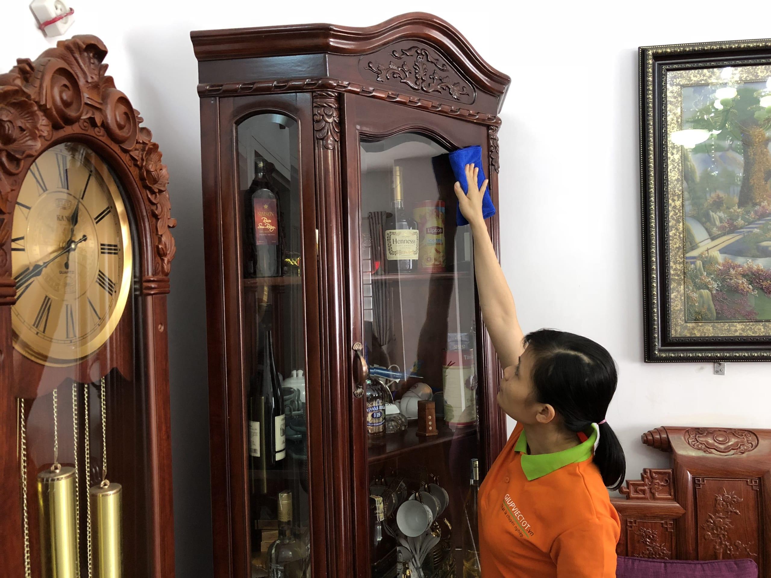 Dịch vụ vệ sinh theo giờ tại Hà Nội