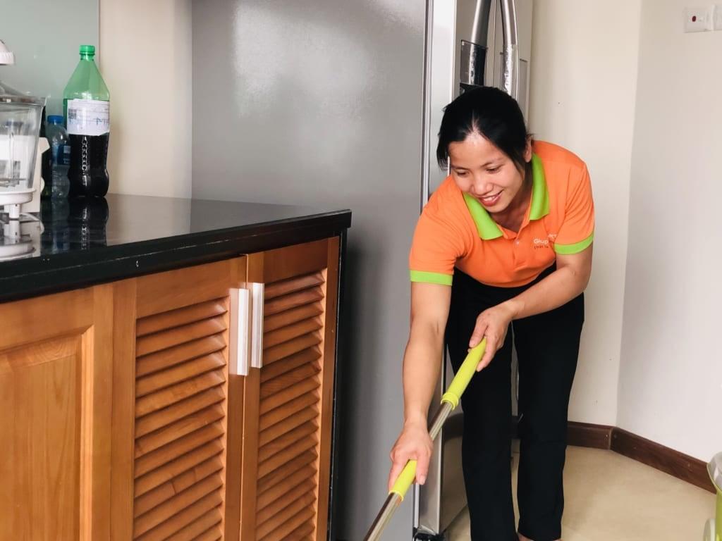 Dịch vụ vệ sinh uy tín tại Hà Đông