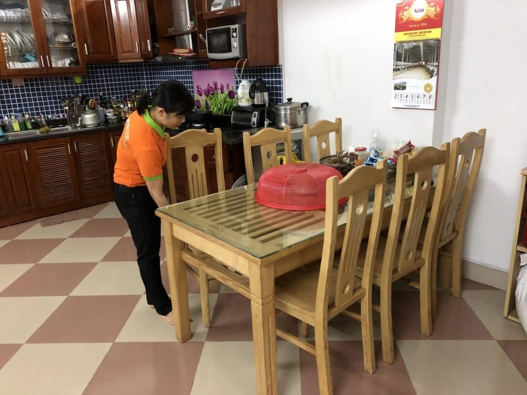 Dọn vệ sinh nhà uy tín tại Hà Nội