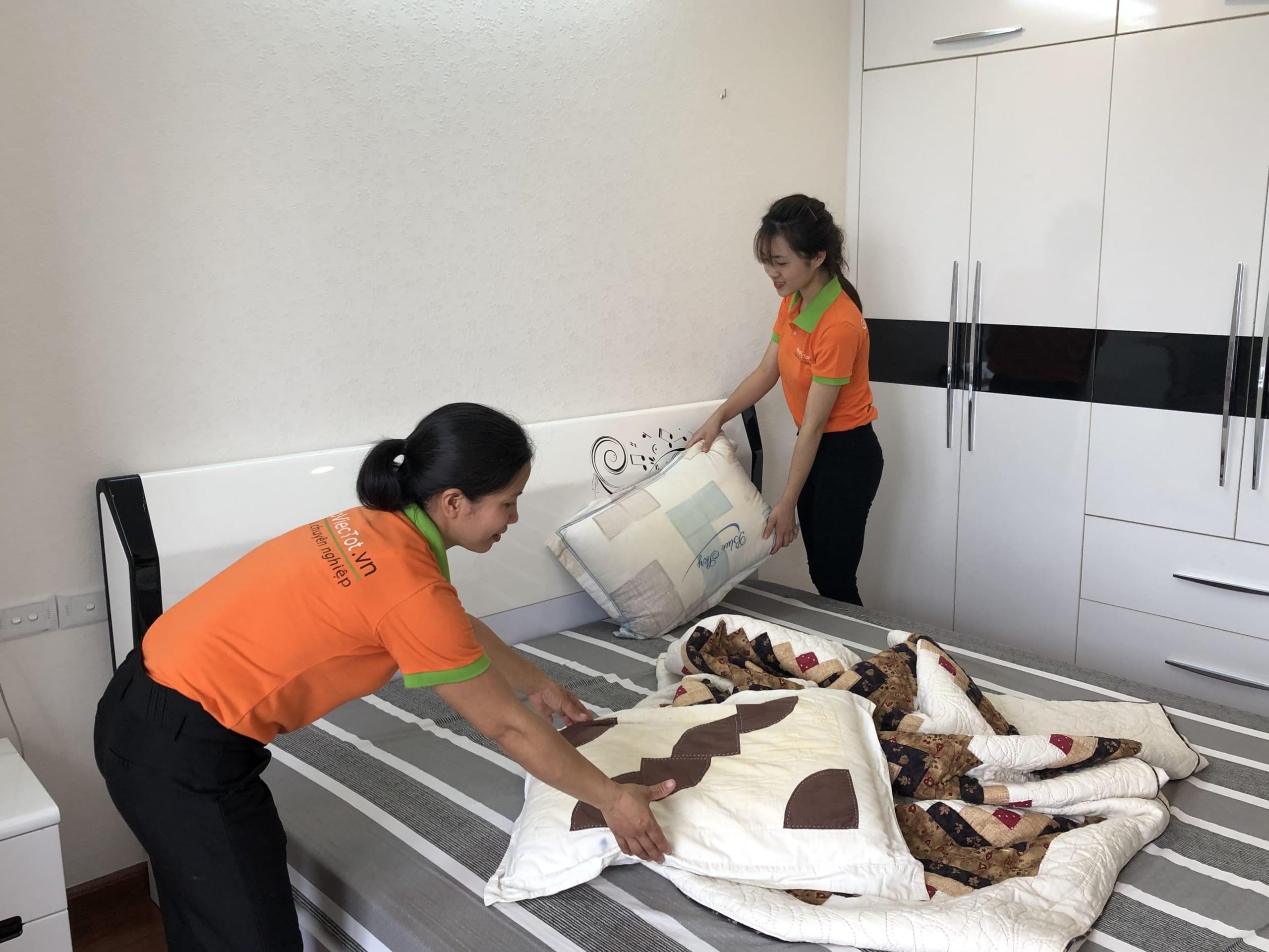 Giúp việc nhà theo giờ tại Hà Đông