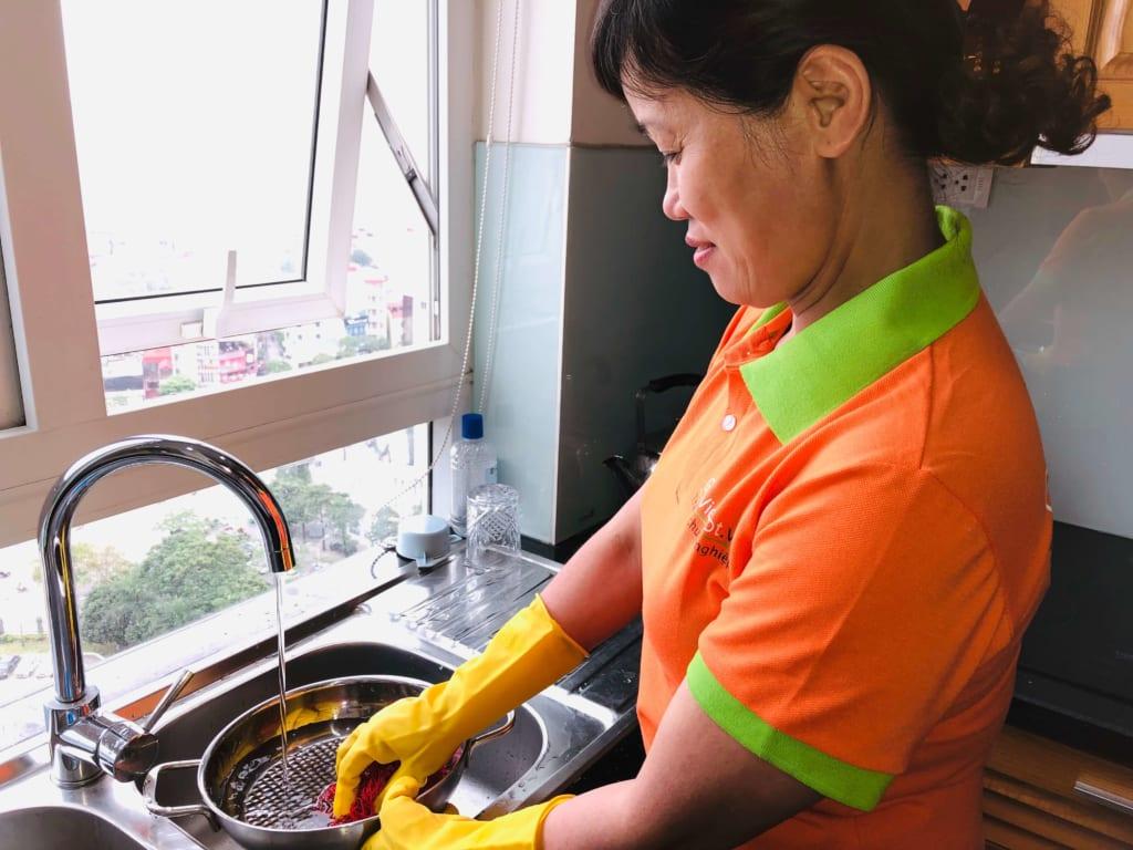 Dịch vụ giúp việc nhà theo giờ tại Hà Đông