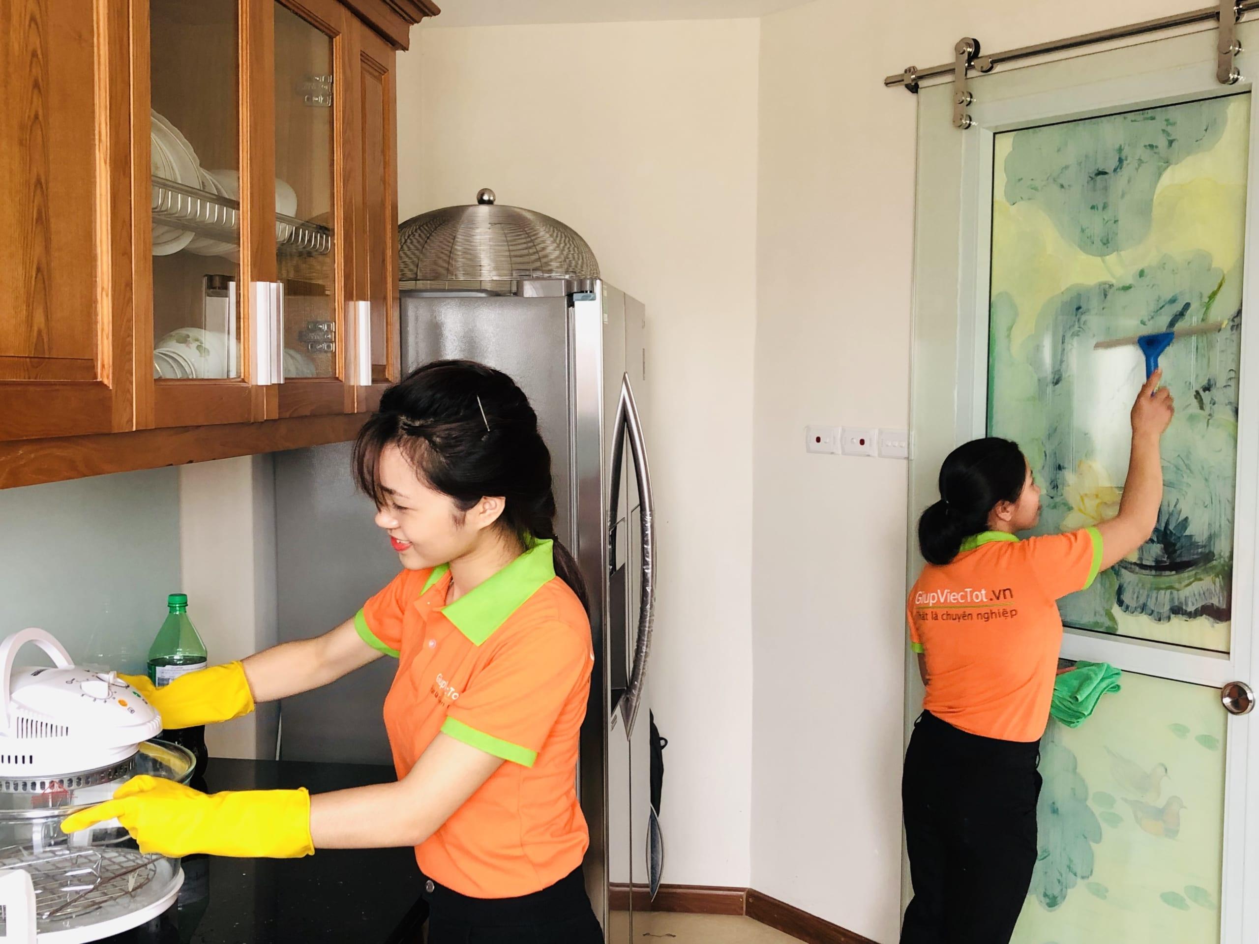 dịch vụ dọn dẹp nhà theo giờ