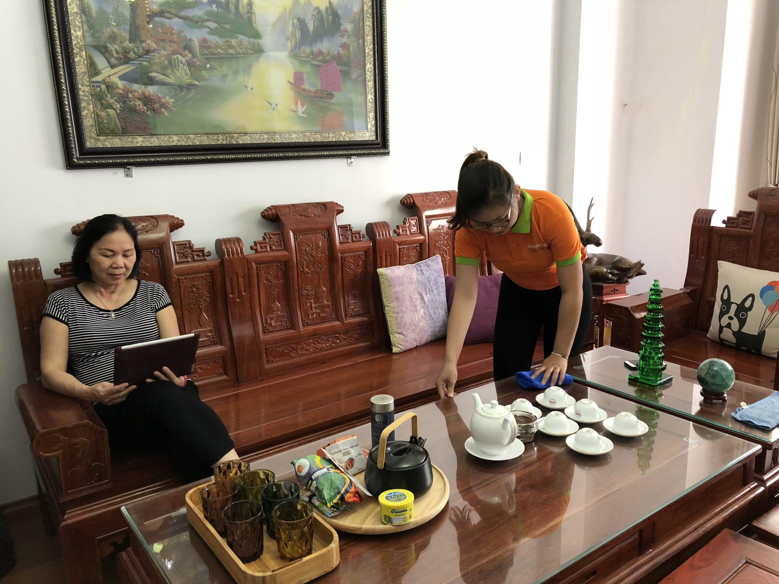 Dịch vụ vệ sinh tại Ba Đình