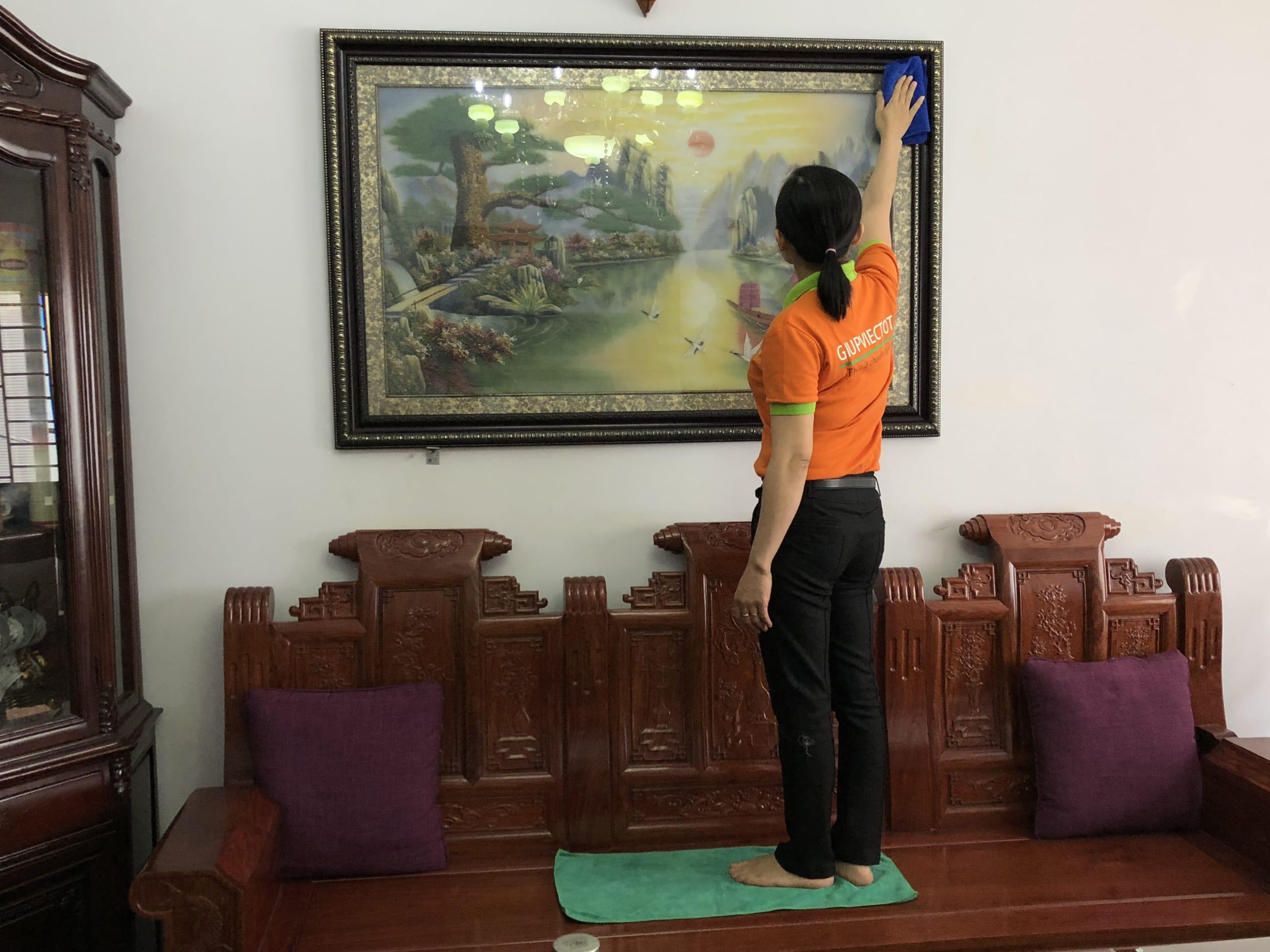 giúp việc nhà theo giờ chính chủ