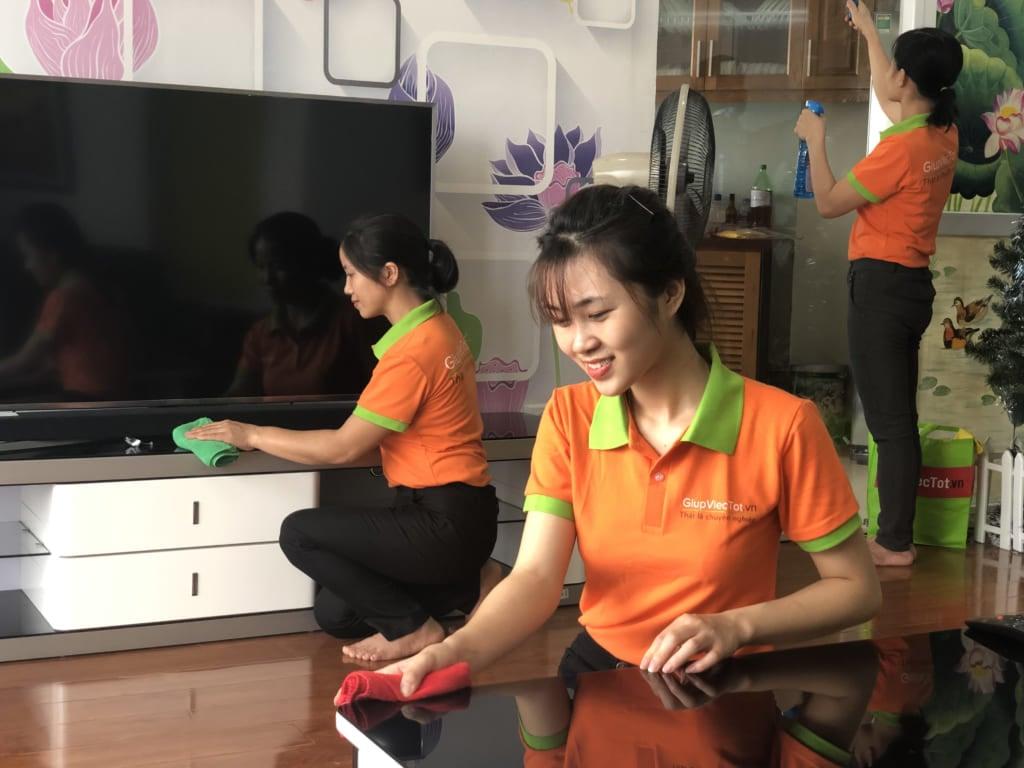 Báo giá vệ sinh công nghiệp Hà Nội