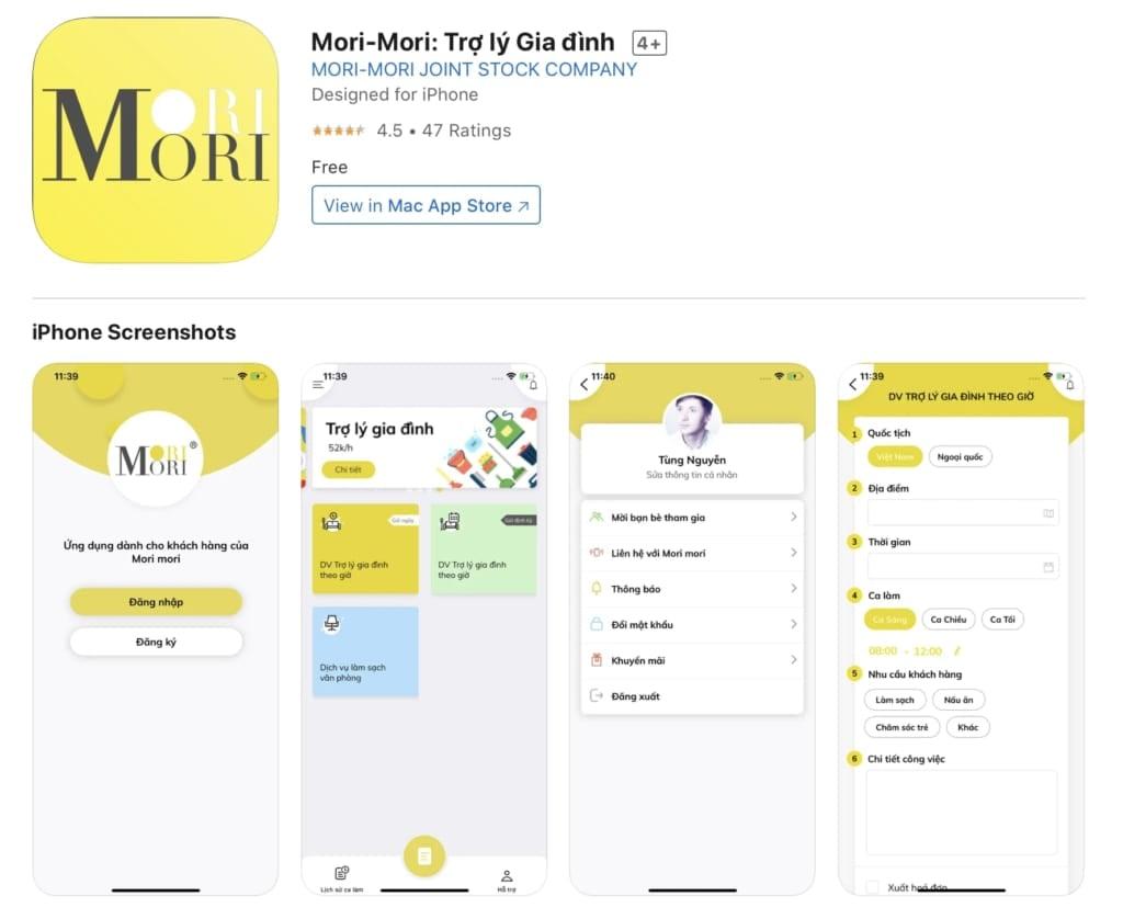Mori-Mori -Trợ lý Gia đình