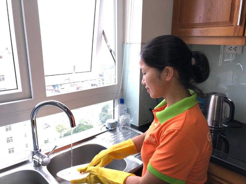 Dịch vụ vệ sinh tại Giúp việc tốt