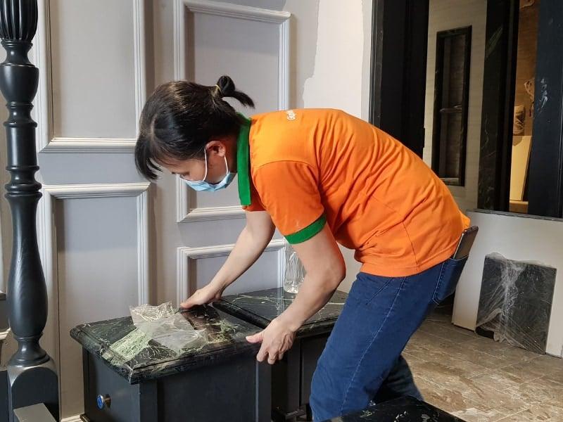 Bảng giá vệ sinh công nghiệp căn hộ chung cư Hà Nội 2021