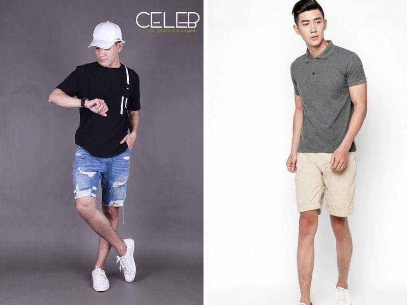 Cách phối đồ quần jean với áo phông cực kì đơn giản