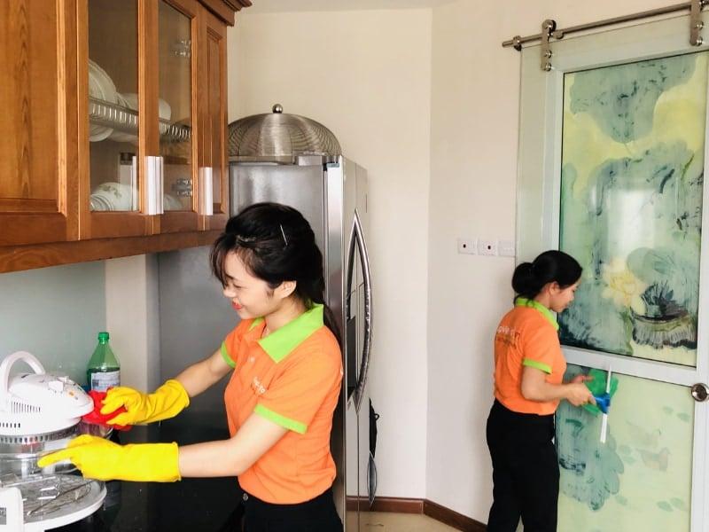 Cách vệ sinh nhà sau xây dựng