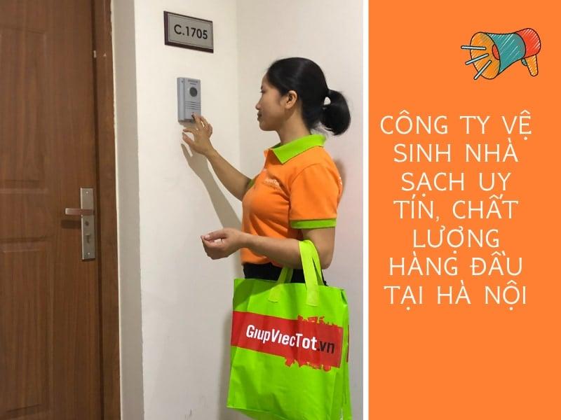 Công ty vệ sinh nhà sạch uy tín, chất lượng hàng đầu tại Hà Nội