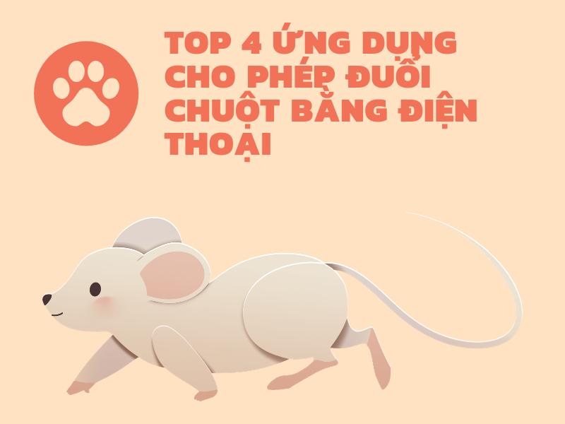 Đuổi chuột bằng điện thoại