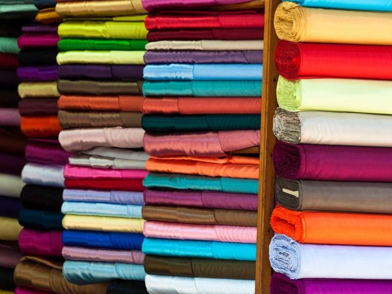 Sử dụng các loại vải khác nhau