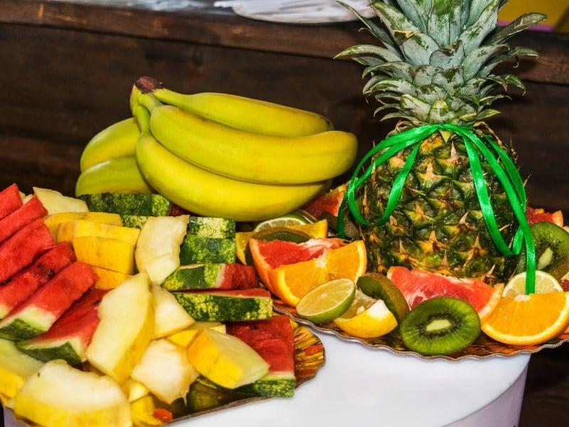 cách chưng mâm trái cây đẹp