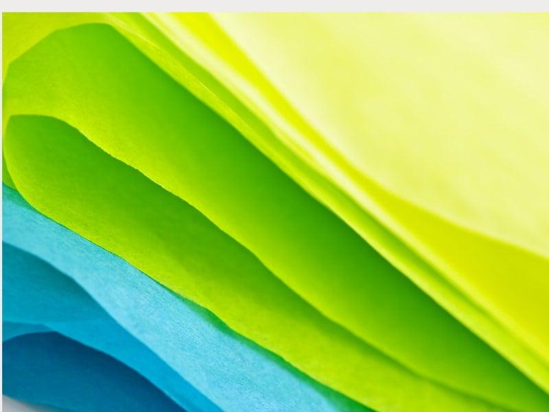 cách làm váy bằng giấy lụa