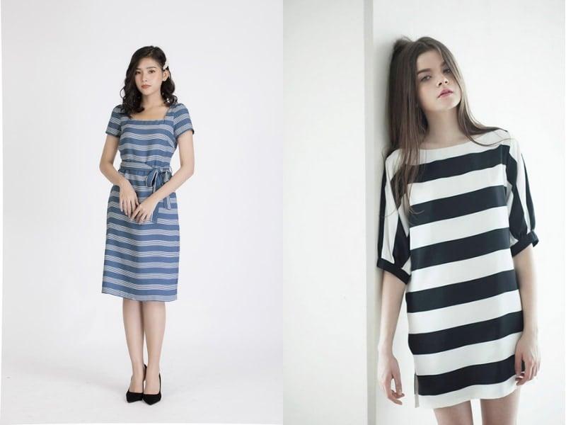 Váy cho người gầy và thấp