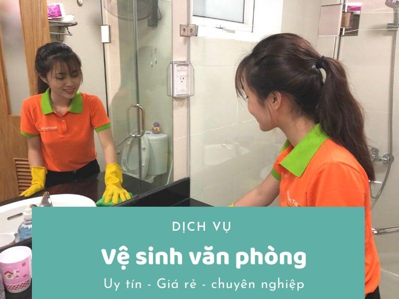 Dịch vụ vệ sinh văn phòng uy tín, giá rẻ, chuyên nghiệp 2021