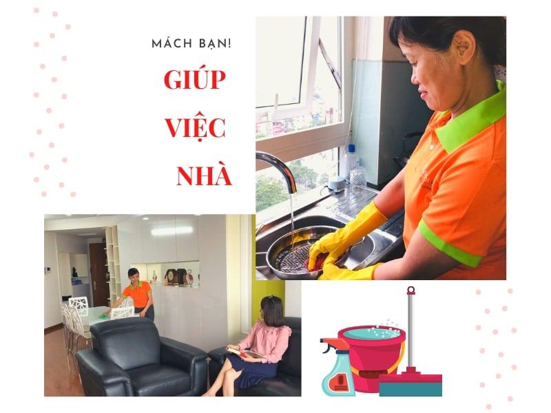 Dịch vụ giúp việc nhà uy tín hàng đầu được tin dùng tại Hà Nội 2021