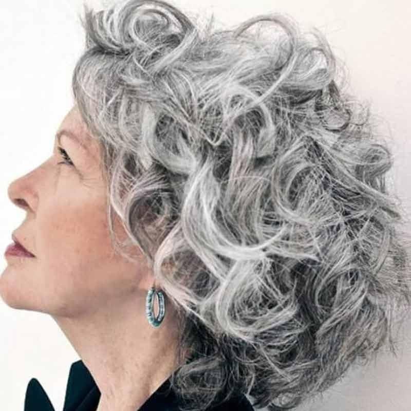 kiểu tóc cho người già