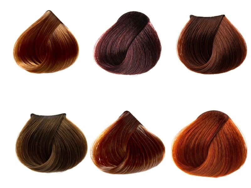 màu tóc tông nâu