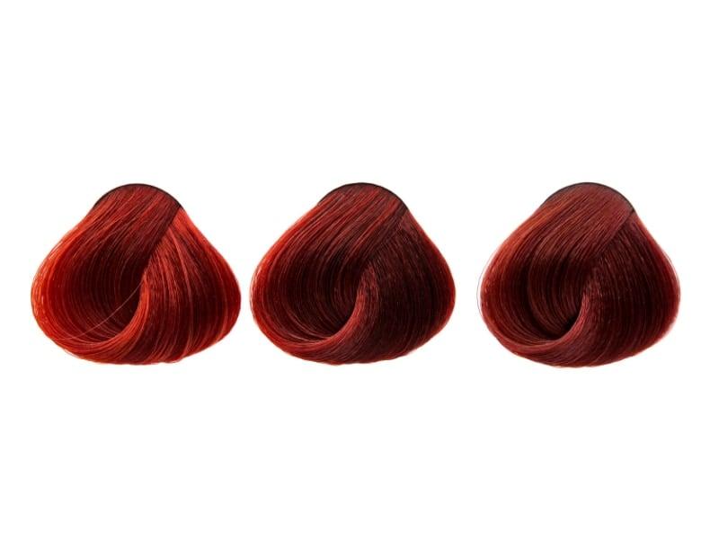 màu tóc đỏ