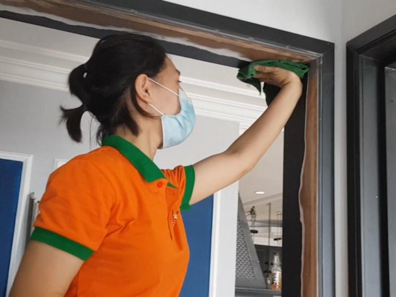 dọn vệ sinh công trình nhà chung cư Hà Nội