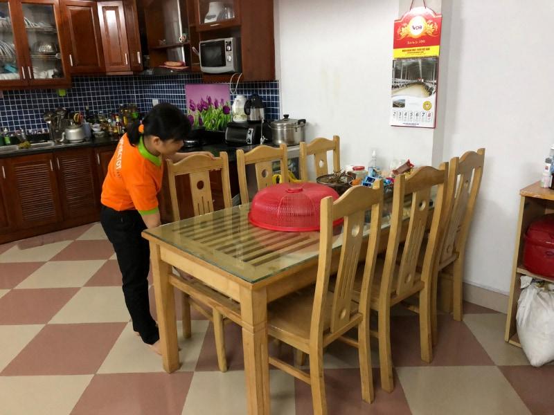 dịch vụ giúp việc theo giờ chung cư