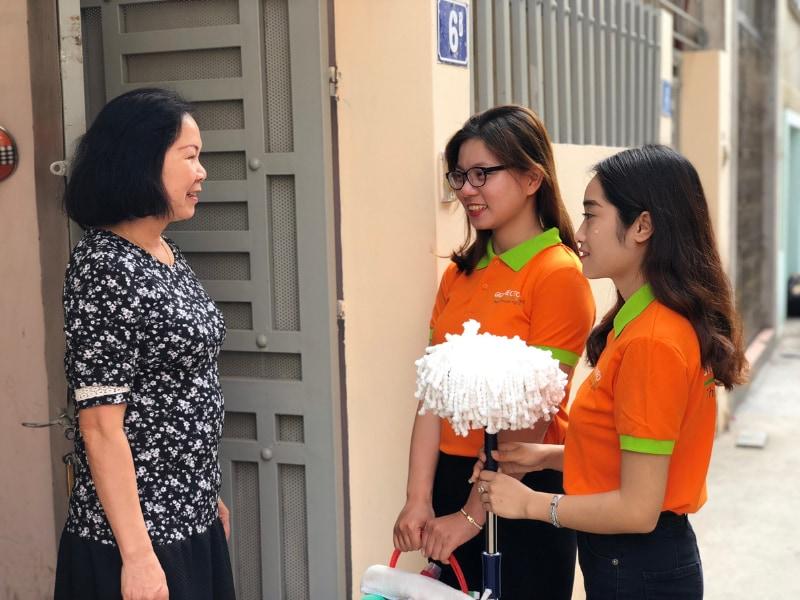 tìm giúp việc nhà ở lại tại Hà Nội