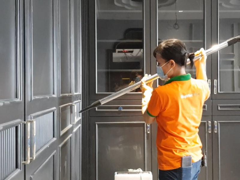 [Giúp Việc Tốt] Báo giá vệ sinh nhà ở sau xây dựng Hà Nội