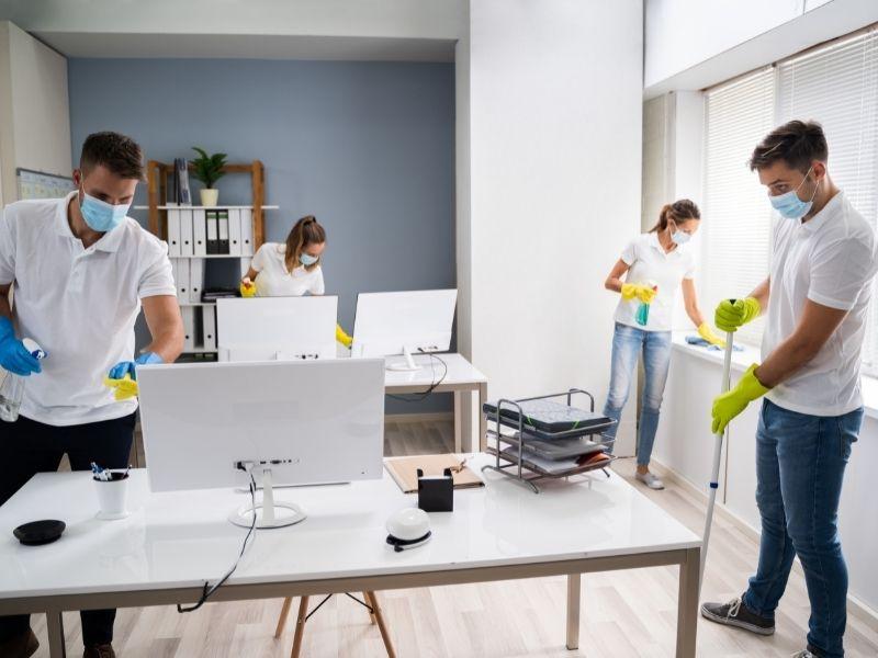 Dịch vụ vệ sinh văn phòng của công ty giới thiệu người giúp việc Giúp Việc Tốt