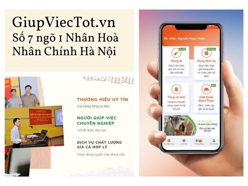 Vì sao khách hàng tin tưởng công ty giới thiệu giúp việc nhà GiupViecTot.vn