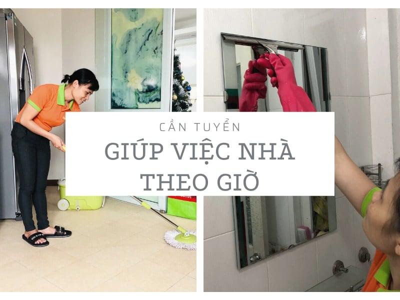 Cần giúp việc nhà theo giờ nhanh nhẹn, trung thực tại Hà Nội