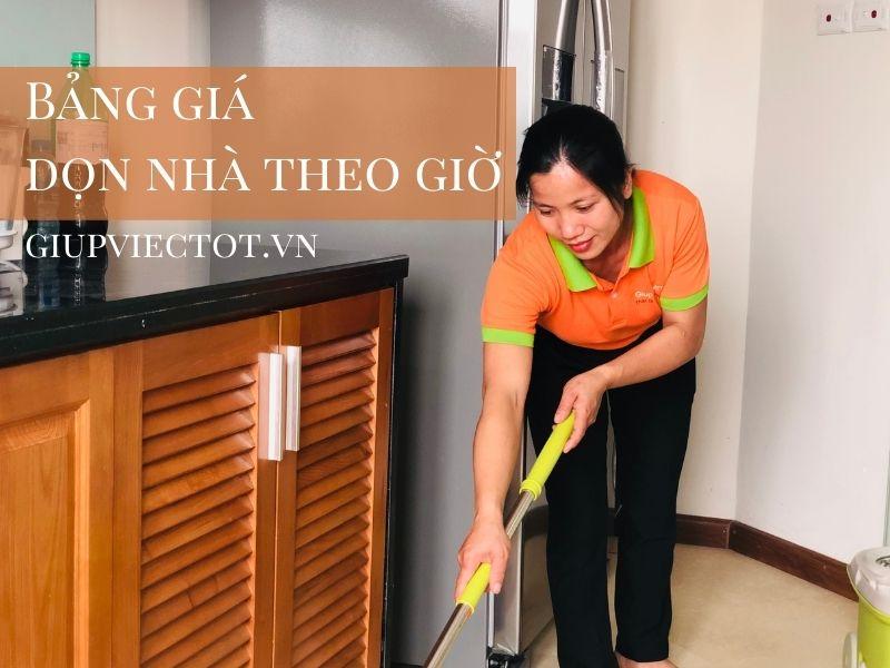 bảng giá dọn nhà theo giờ 2021 Hà Nội