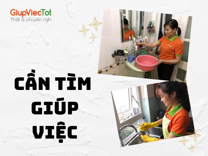 [Mách Bạn] Cần Tìm Giúp Việc Uy Tín, Giá Rẻ Tại Hà Nội