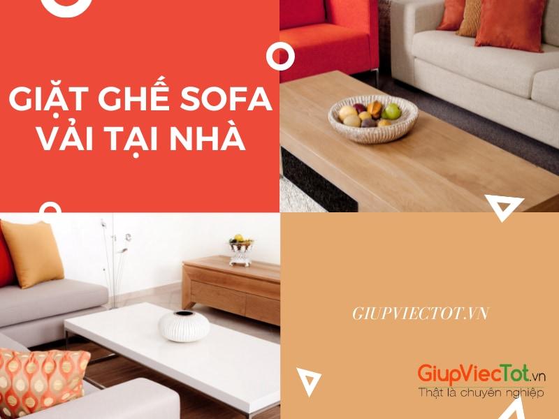 [Cập Nhật] Bảng Giá Giặt Ghế Sofa Vải Tại Nhà – Dịch Vụ Uy Tín Giá Rẻ