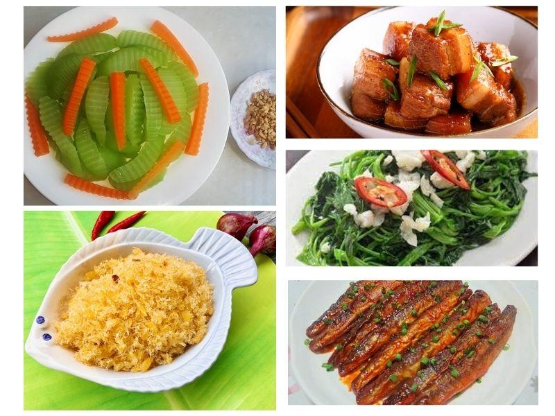 Nấu món gì cho người chán ăn