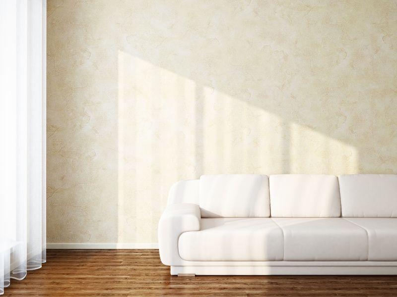cách làm sạch sofa nhung - phơi khô
