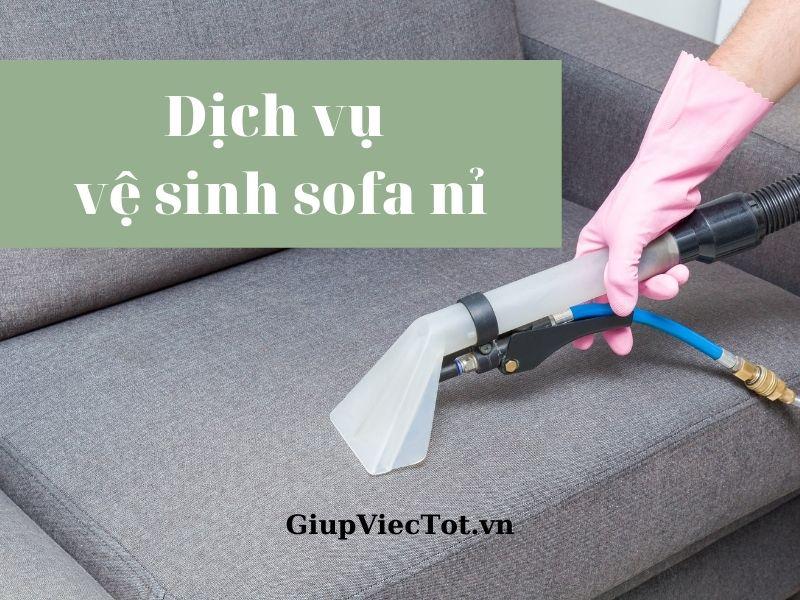 05 câu hỏi nằm lòng để thuê dịch vụ vệ sinh sofa nỉ chất lượng!