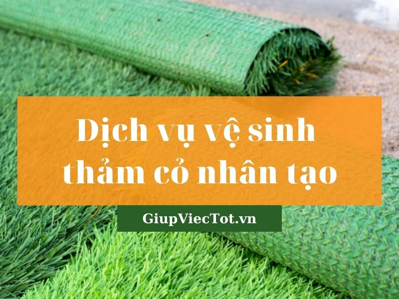 [Mách bạn] Dịch vụ vệ sinh thảm cỏ nhân tạo chuyên nghiệp!