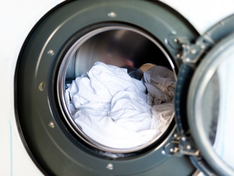 giặt màn cửa tại nhà