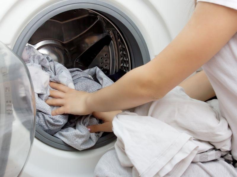 giặt vỏ nệm bông ép