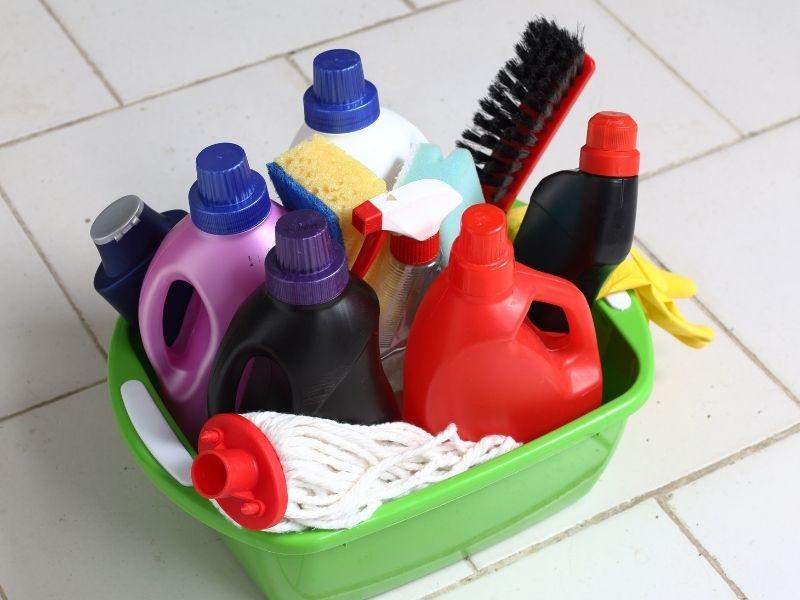 hóa chất giặt thảm