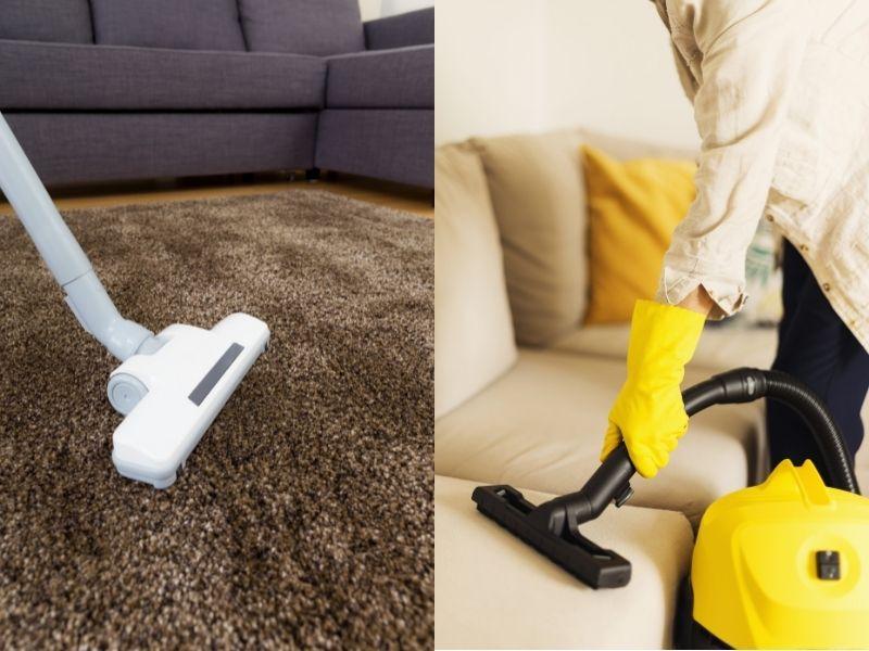 hút bụi thảm và ghế sofa