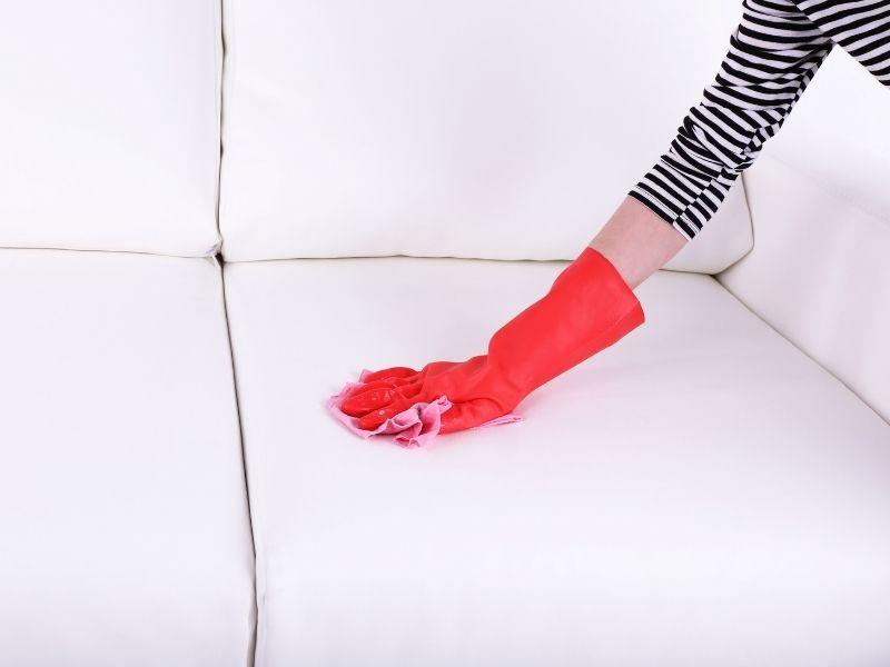 khăn khô lau ghế sofa