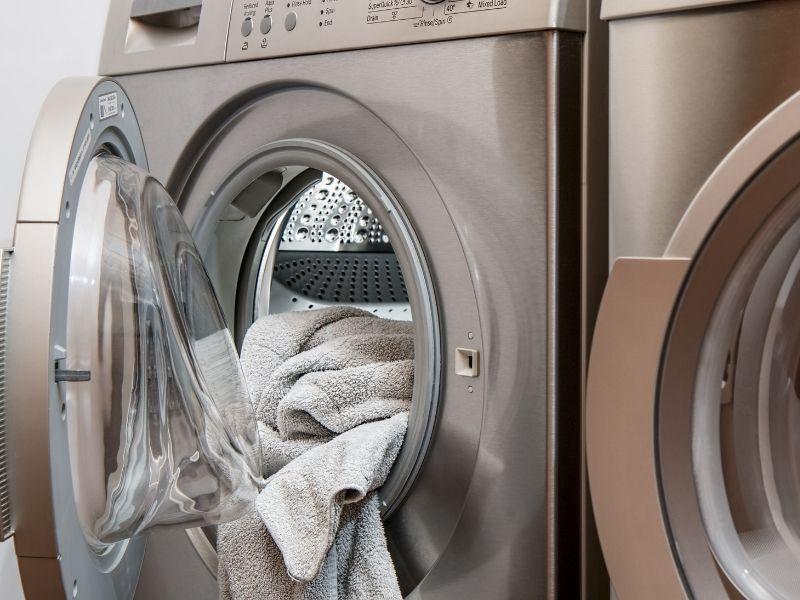 máy giặt thảm lông