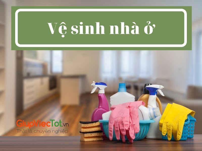Vệ sinh nhà ở: Không gian sống sạch sẽ, thoải mái cho bạn!
