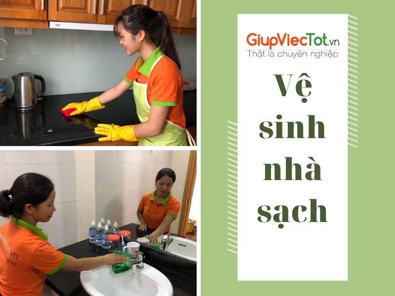 [Bí quyết] Vệ sinh nhà sạch đẹp chỉ trong một bước đơn giản!
