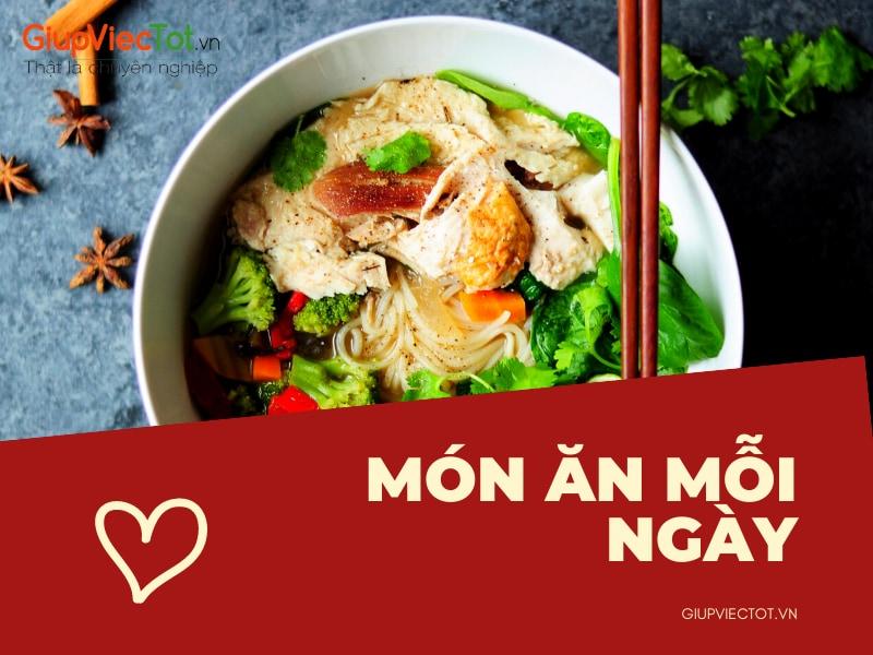 Thực Đơn 30 Ngày Cho Món Ăn Mỗi Ngày Thơm Ngon Bổ Dưỡng | GiupViecTot.vn